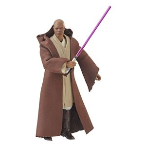 [Star Wars: Revenge Of The Sith: Black Series Action Figure: Mace Windu (Product Image)]