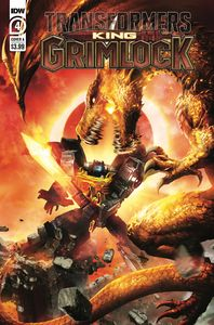 [Transformers: King Grimlock #4 (Cover A Wilkins) (Product Image)]