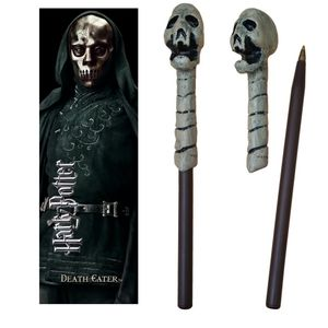 [Harry Potter: Pen & Bookmark: Death Eater's Skull Wand (Product Image)]
