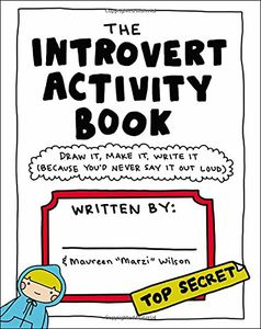 [The Introvert Activity Book (Product Image)]