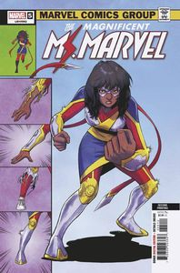 [Magnificent Ms Marvel #5 (2nd Printing Jung variant) (Product Image)]