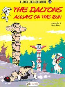 [Lucky Luke: Volume 34: The Daltons Always On The Run (Product Image)]