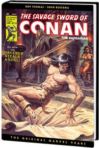 [Savage Sword Of Conan: The Original Marvel Years: Omnibus: Volume 4 (Norem DM Edition Hardcover) (Product Image)]