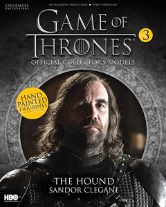 [Game Of Thrones: Model Collection Magazine #3 The Hound (Product Image)]