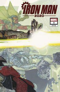 [Iron Man: 2020 #3 (Bianchi Connecting Variant) (Product Image)]