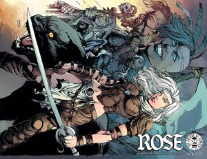 [Rose #4 (Cover B Finch) (Product Image)]