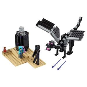 [LEGO: Minecraft: The End Battle (Product Image)]