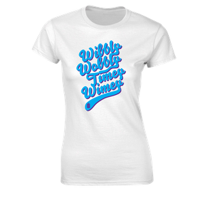 [Doctor Who: Women's Fit T-Shirt: Wibbly Wobbly Timey Wimey (Product Image)]
