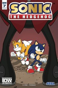 [Sonic The Hedgehog #7 (Peppers Convention Exclusive Variant) (Product Image)]
