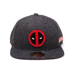[Deadpool: Snapback Cap: Metal Badge Logo (Product Image)]