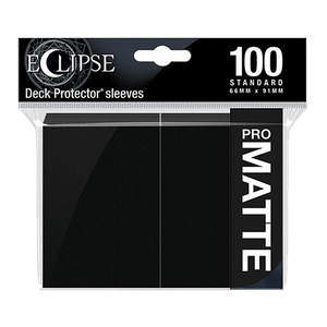 [Ultra Pro: Eclipse Matte: Jet Black: Standard Sleeves (100) (Product Image)]