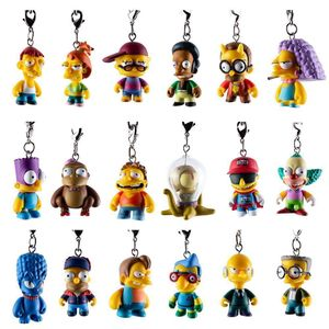 [Kidrobot: The Simpsons: Crap-Tacular Keychains (Product Image)]