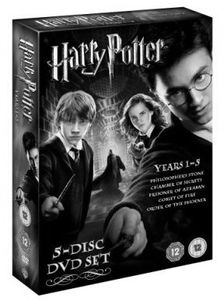 [Harry Potter: The Harry Potter Years 1-5 Box Set (Product Image)]