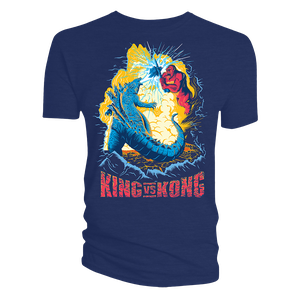 [Godzilla Vs Kong: T-Shirt: Epic Battle (Product Image)]