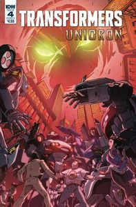 [Transformers: Unicron #4 (Cover A Milne) (Product Image)]