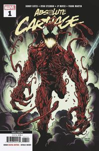 [Absolute Carnage #1 (4th Printing Bagley New Art AC) (Product Image)]