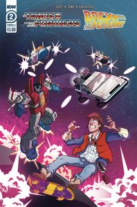 [Transformers/Back To Future #2 (Cover B Phil Murphy) (Product Image)]