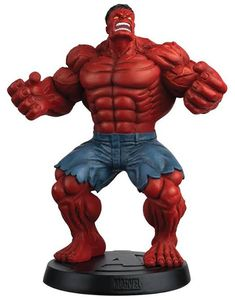 [Marvel: Chess Collection Figure Magazine Special #14 Red Hulk (Product Image)]