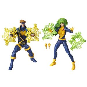 [Marvel Legends: 90s Action Figure 2 Pack: Havok & Polaris (Product Image)]