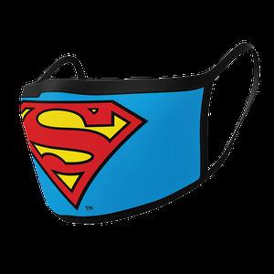[Face Mask 2-Pack: Superman Logo (Product Image)]