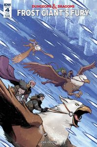 [Dungeons & Dragons: Frost Giants Fury #4 (Subscription Variant) (Product Image)]