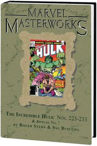 [Marvel Masterworks: Incredible Hulk: Volume 14 (DM Variant Edition 294 Hardcover) (Product Image)]