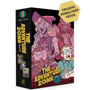 [The Adventure Zone: Here There Be Gerblins, Murder On The Rockport (Box Set) (Product Image)]