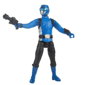 [Power Rangers: Beast Morphers: Action Figure: Blue Ranger (Product Image)]