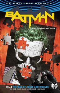 [Batman: Volume 4: The War Of Jokes & Riddles (Rebirth) (Product Image)]