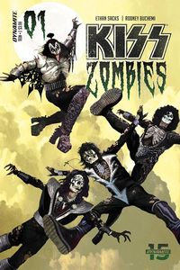 [The cover for KISS: Zombies #1 (Cover A Suydam)]
