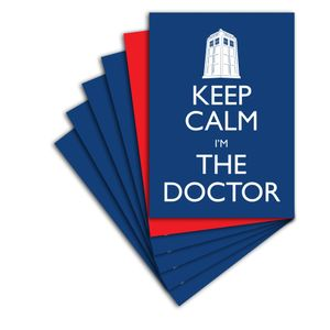 [Doctor Who: Postcard Pack: Keep Calm Set II (Product Image)]