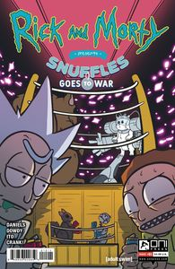 [Rick & Morty Presents: Snuffles Goes To War #1 (Cover A Dowdy) (Product Image)]