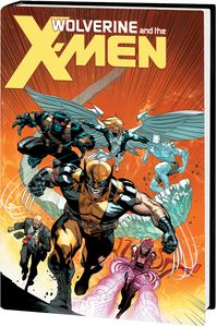 [Wolverine & The X-Men By Aaron: Omnibus (DM Variant New Printing Hardcover) (Product Image)]