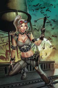 [Van Helsing Vs Draculas Daughter #1 (Cover C Otero) (Product Image)]