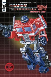 [Transformers: 84 Secrets & Lies #1 (2020 Comic-Con@Home Exclusive) (Product Image)]