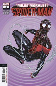[Miles Morales: Spider-Man #4 (2nd Printing Garron Variant) (Product Image)]