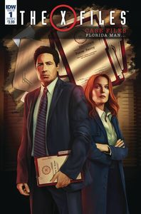 [X-Files: Case Files: Florida Man #1 (Cover A Nodet) (Product Image)]