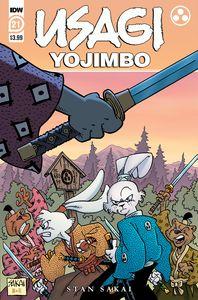 [Usagi Yojimbo #21 (Cover A Sakai) (Product Image)]