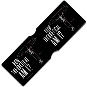 [DC: Flash: Travel Pass Holder: How Theoretical Am I? (Product Image)]