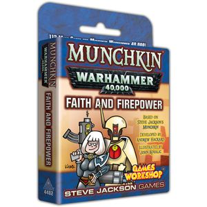 [Munchkin: Warhammer 40K: Faith & Firepower (Product Image)]