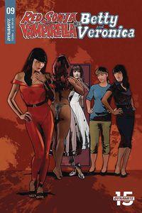 [Red Sonja & Vampirella Meet Betty & Veronica #9 (Cover E Staggs) (Product Image)]