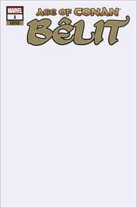 [Age Of Conan: Belit #1 (Blank Variant) (Product Image)]