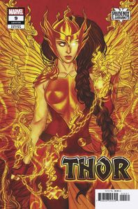 [Thor #9 (Frison Valkyrie Phoenix Variant) (Product Image)]