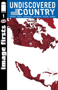 [Image Firsts: Undiscovered Country #1 (Product Image)]