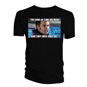 [Doctor Who: The Meme Collection T-Shirt: The Laws Of Time (Product Image)]