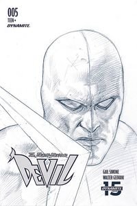 [Death-Defying Devil #5 (Federici Black & White Variant) (Product Image)]
