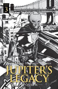 [Jupiters Legacy: Requiem #3 (Cover C Leon Black & White) (Product Image)]