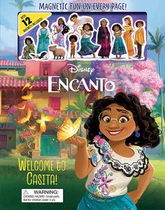[Disney: Encanto: Welcome To Casita! (Magnetic Hardcover) (Product Image)]