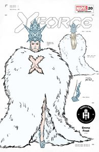 [X-Force #20 (Dauterman Emma Frost Design Variant Gala) (Product Image)]