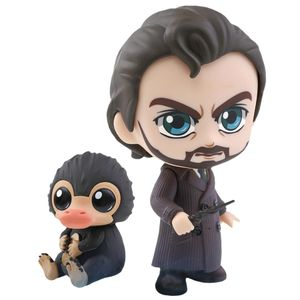 [Fantastic Beasts: The Crimes Of Grindelwald: Cosbaby Figures: Albus & Niffler (2 Pack) (Product Image)]